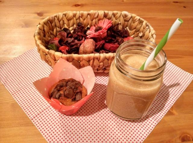 Hruškové smoothie s oříšky
