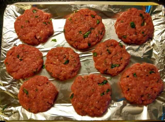 Mleté telecí maso na burger