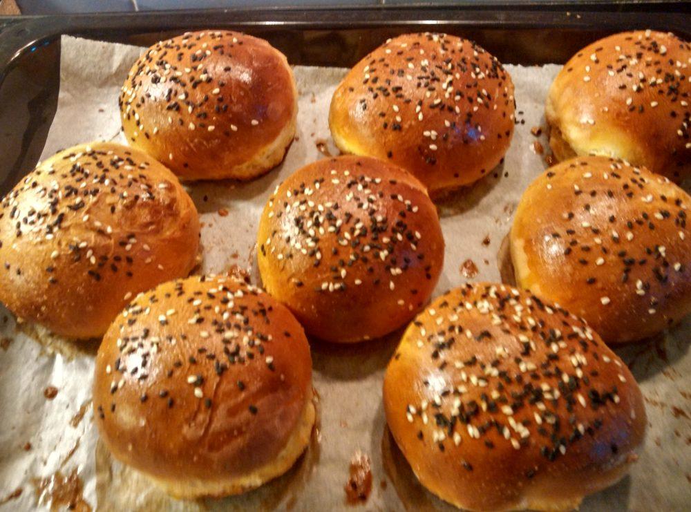Domácí hamburgerové bulky