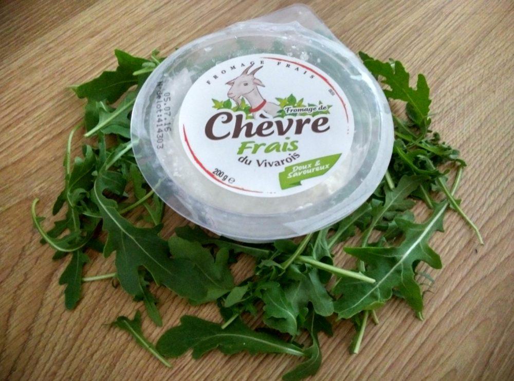 francouzský kozí sýr Chévre Frais du Vivarois