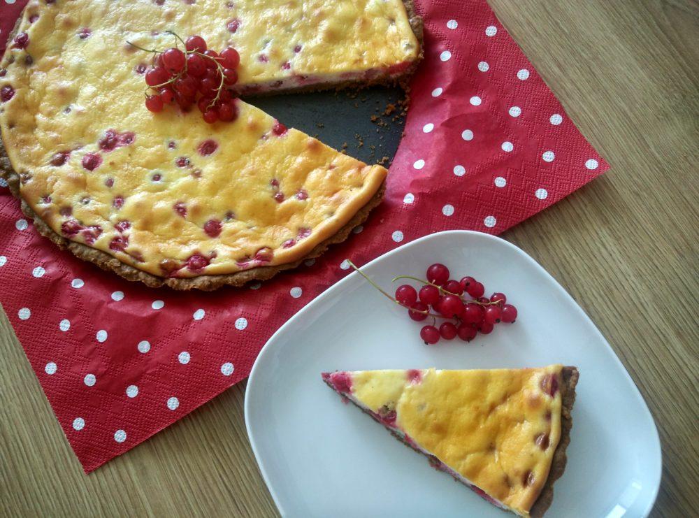 Rybízový cheesecake