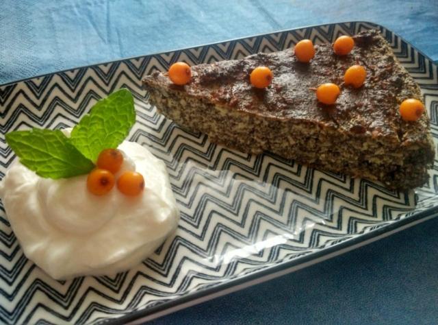 Makový bezlepkový koláč