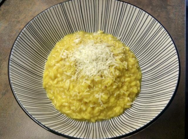 Šafránové rizoto