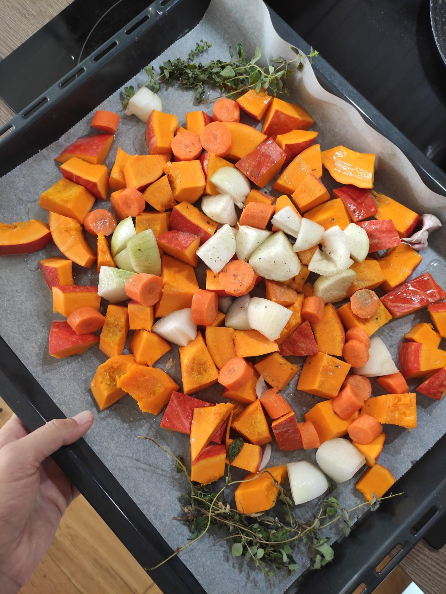 Zeleninový základ na polévku
