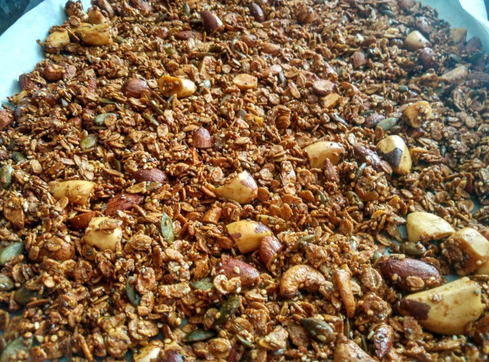 Hotová domácí granola
