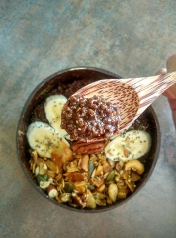 Čokoládová quinoa kaše