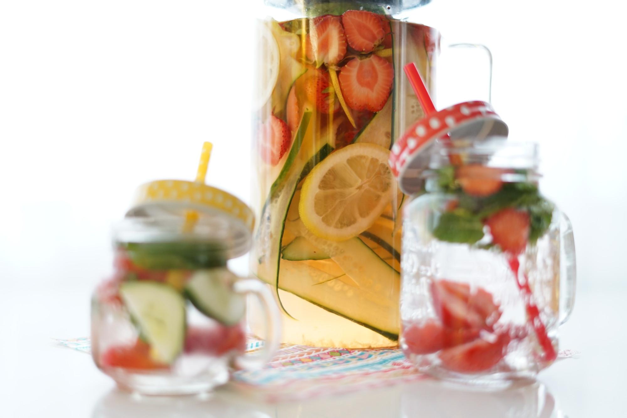 Svěží letní limonáda