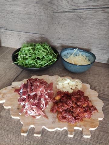 Špagety jamón Serrano